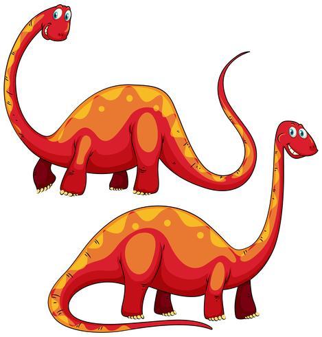 Brachiosaurus left and right view