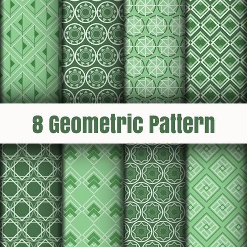 Texturas de superfície de fundo padrão geométrico vetor papel de parede