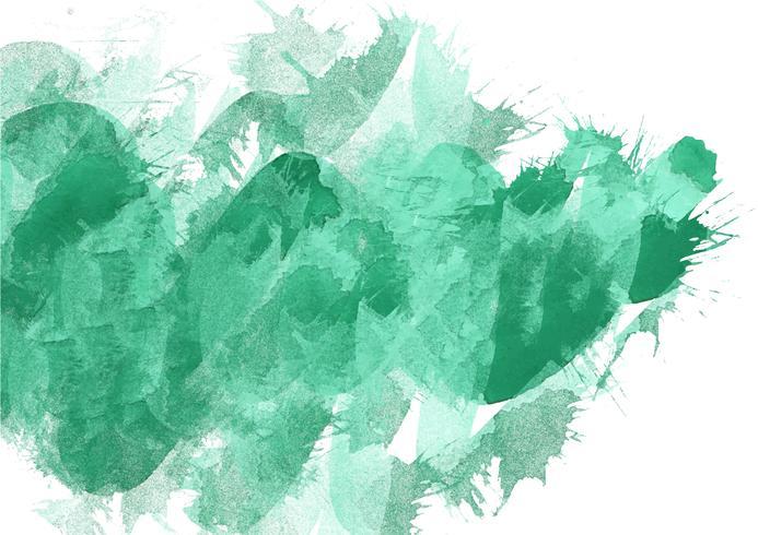 Fondo pintado a mano colorido de la acuarela. Pinceladas de acuarela verde. Textura y fondo abstractos de la acuarela para el diseño. Fondo de acuarela sobre papel con textura.