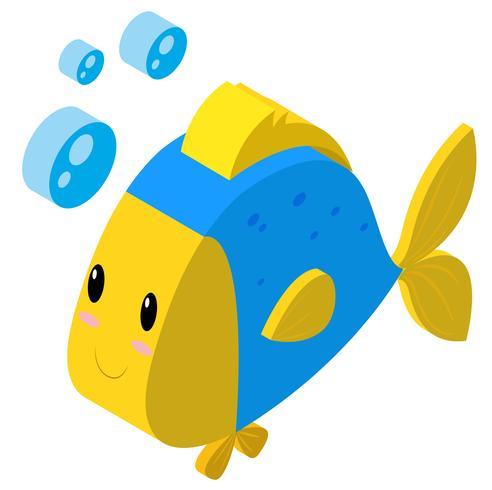 3D-Design für Fische Blasen machen