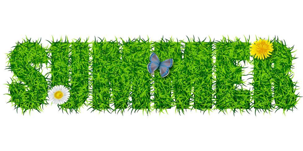 Iscrizione Estate dall'erba