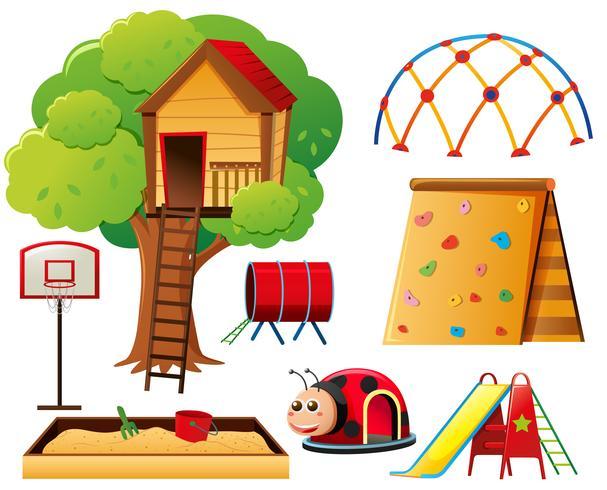 Treehouse et autres stations de jeux