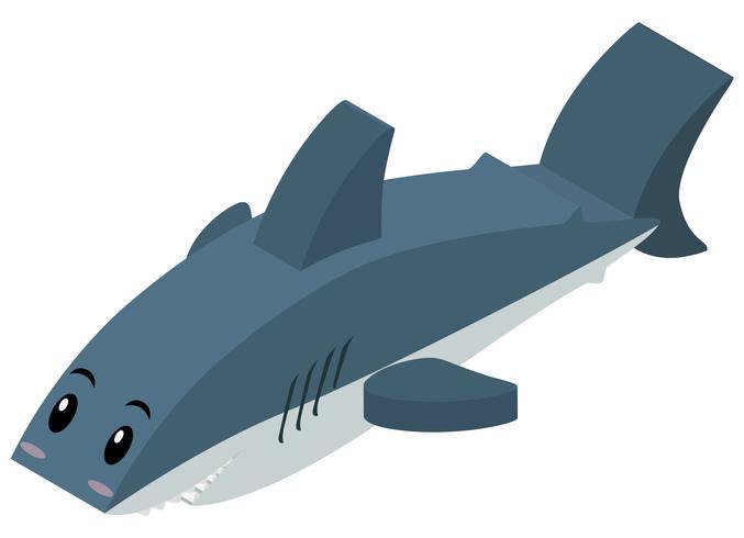Requin en conception 3D