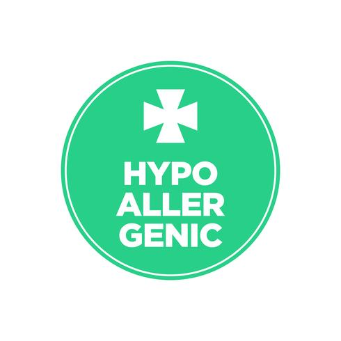 Hypoallergenes Symbol
