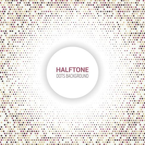 Halftoon dots ontwerp