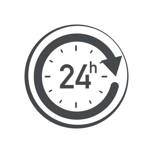 Icona 24 ore.