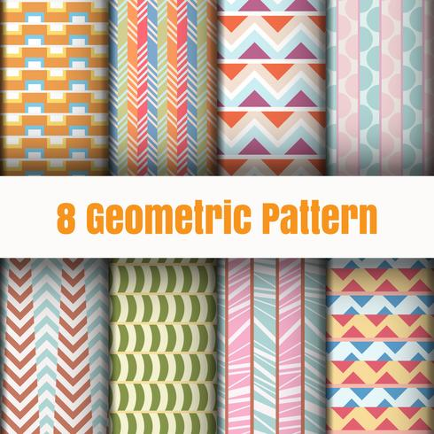 Texturas superficiales del fondo del papel pintado del modelo geométrico del vector