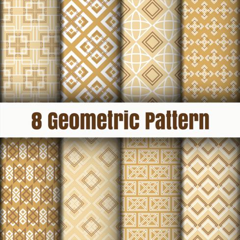 Geometrische vectorpatroonbehang achtergrond oppervlaktetexturen