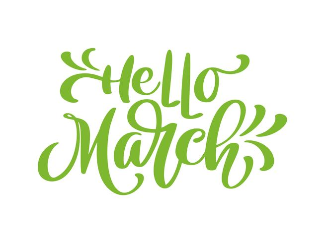 Image result for hello march clipart