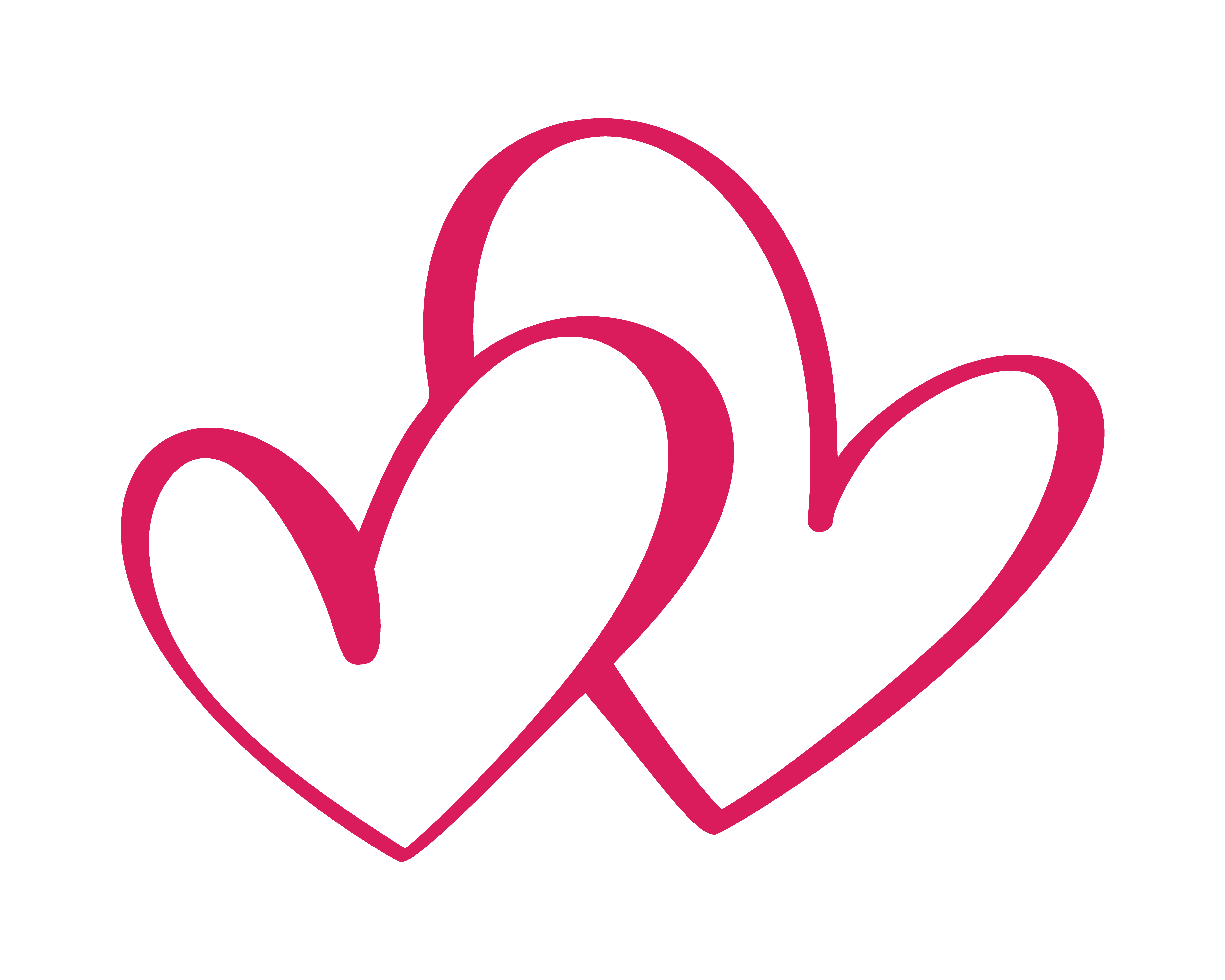 Heart two love sign icon on white background romantic for Love sign