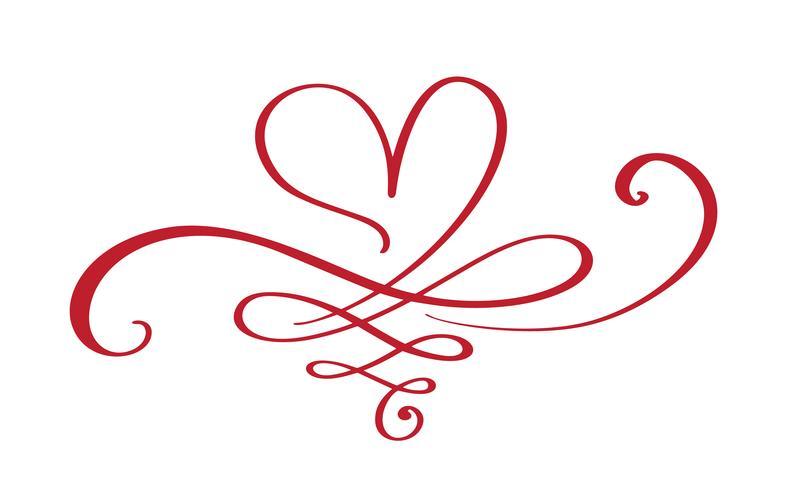 Heart love sign forever vector