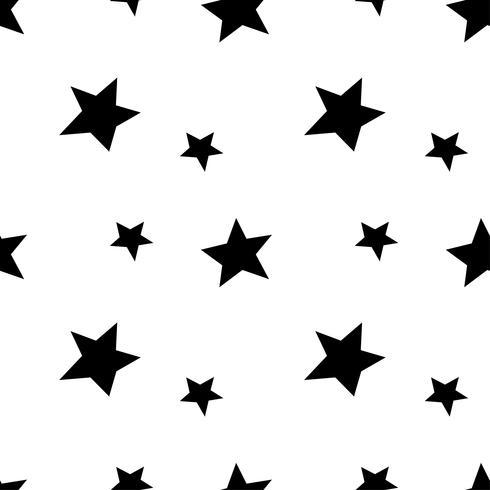Motif étoile géométrique moderne. Texture d'arrière-plan vecteur motif étoile
