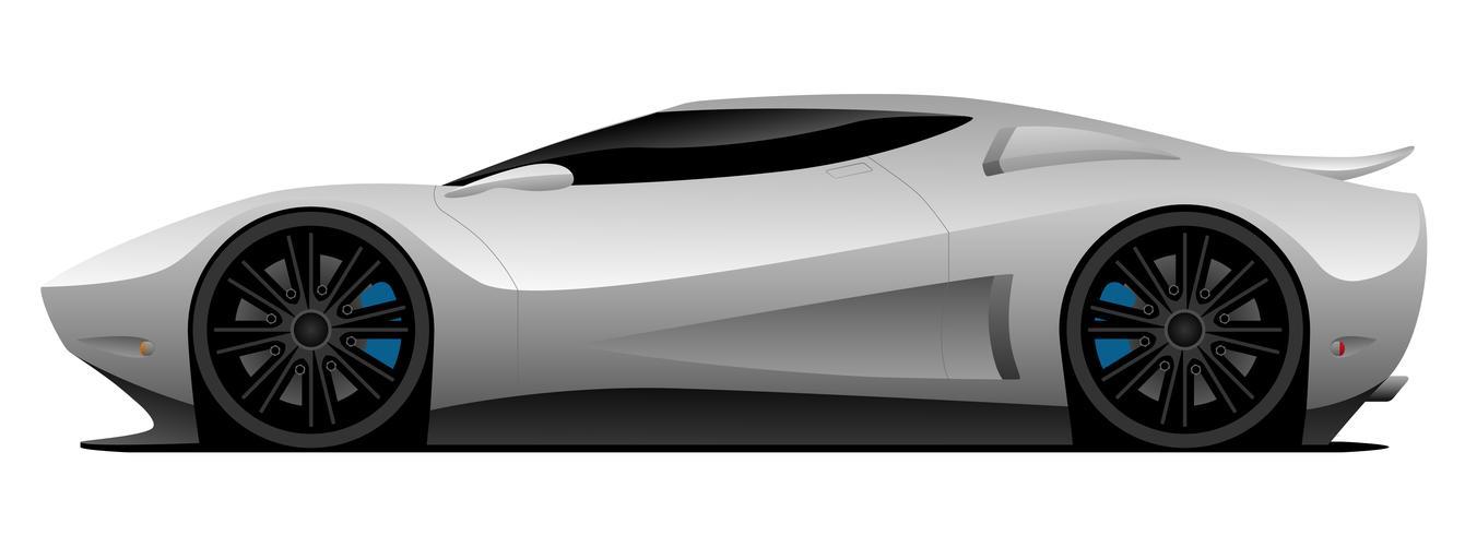Illustration vectorielle de super voiture vecteur