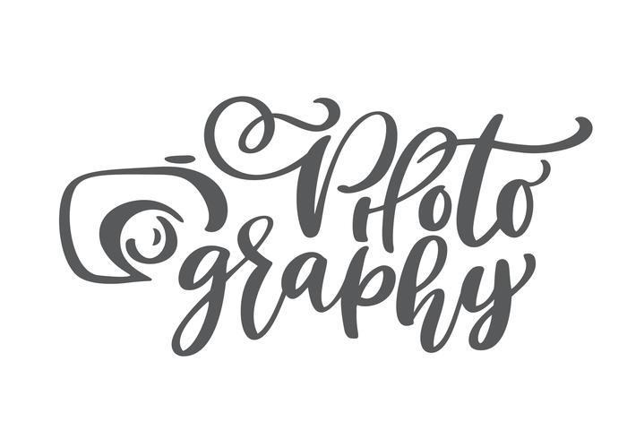ícone de logotipo de fotografia de câmera vetor