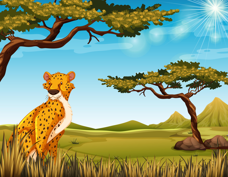 gepard  download kostenlos vector clipart graphics