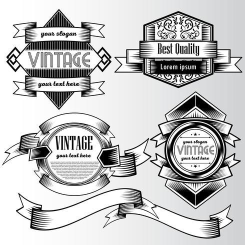 Modèle de conception de style Vintage flyer