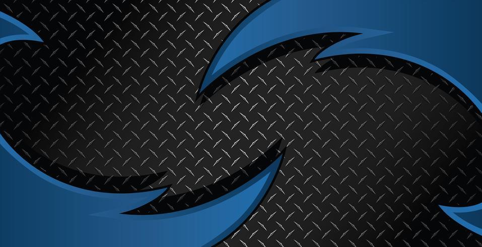 Illustrazione strutturata del fondo di vettore del piatto del diamante del rasoio blu