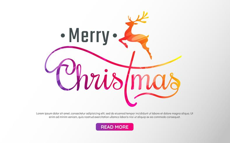 Kerst achtergrond Vector achtergrond