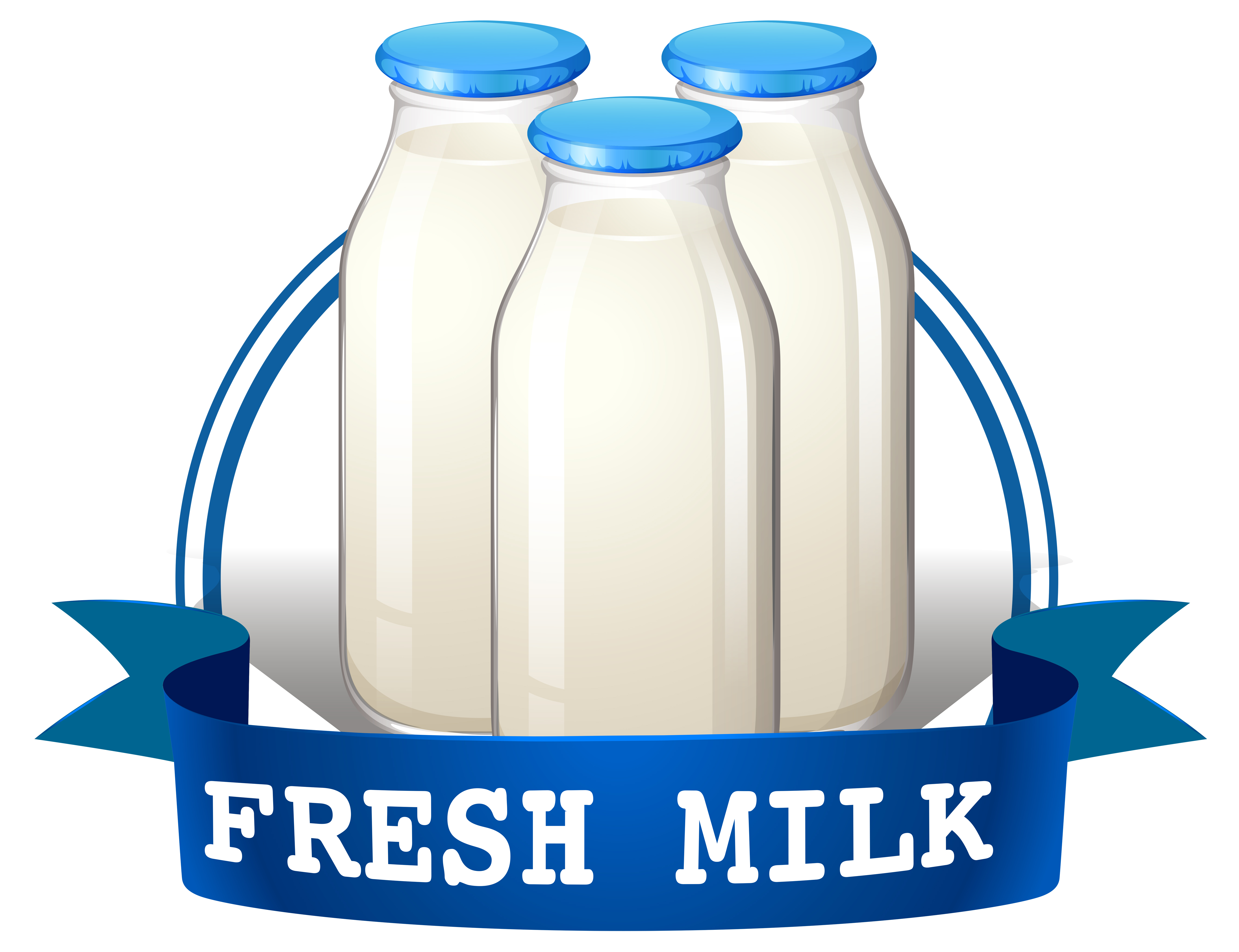 Dairy Products Free Vector Art - (2562 Free Downloads) (5352 x 4111 Pixel)