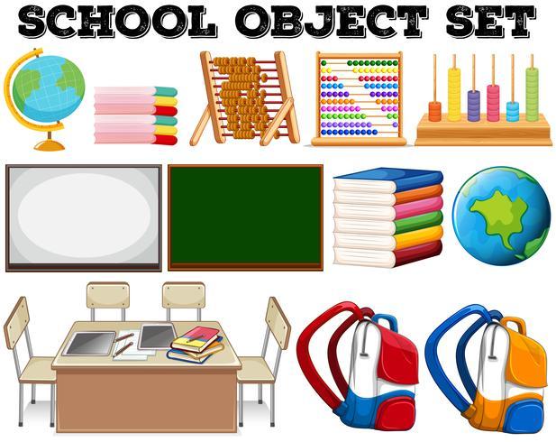 Oggetti e strumenti scolastici