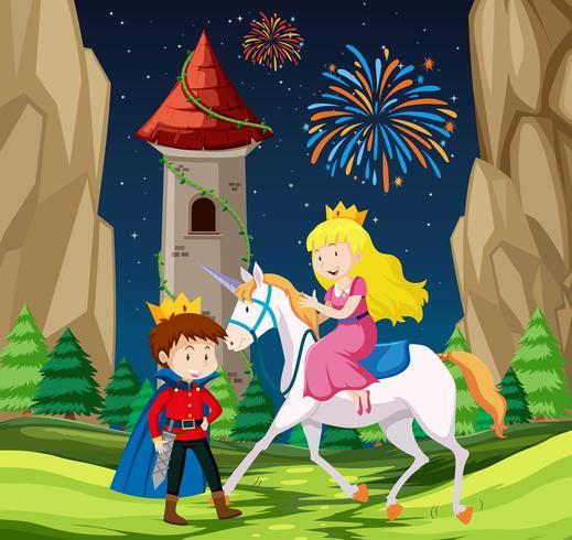 Prinz- und Prinzessinnen-Szene