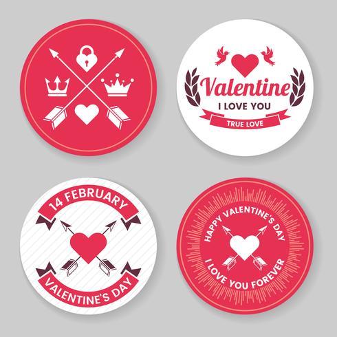 San Valentín plantilla banner vector de fondo para banner