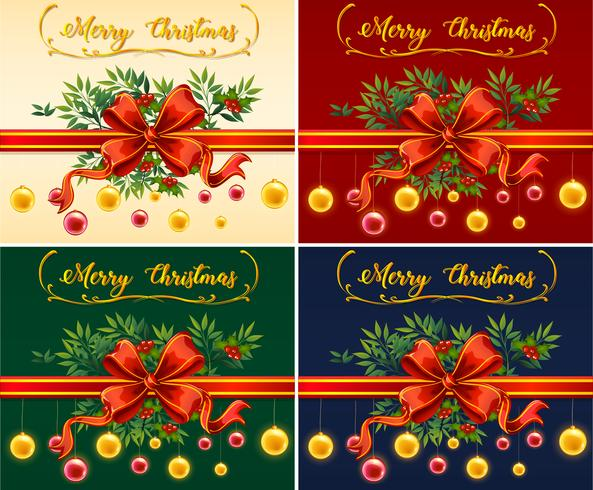 four christmas cards with different color backgrounds download free vectors clipart graphics vector art four christmas cards with different