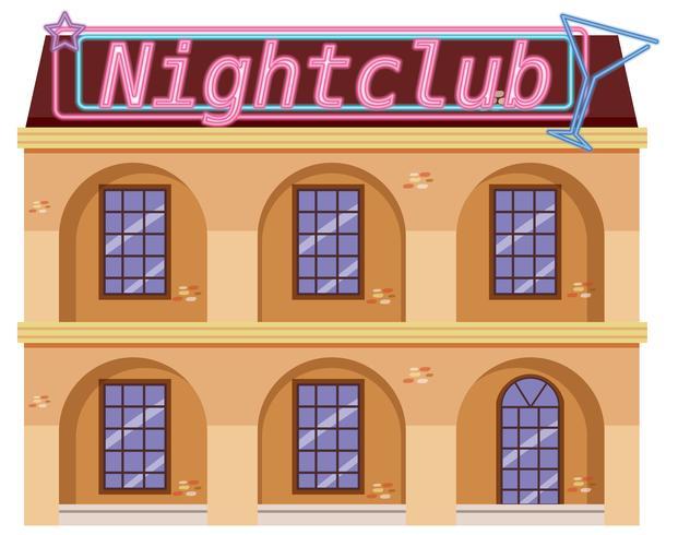 Esterno di una discoteca