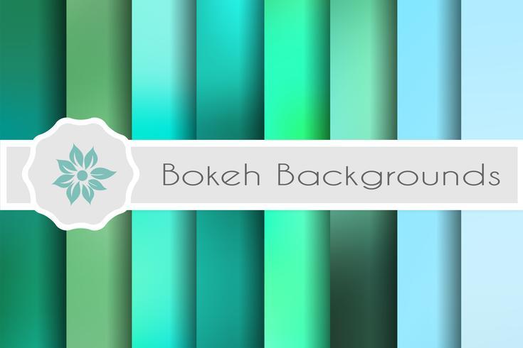 Fundos de bokeh conjunto de cenários decorativos para