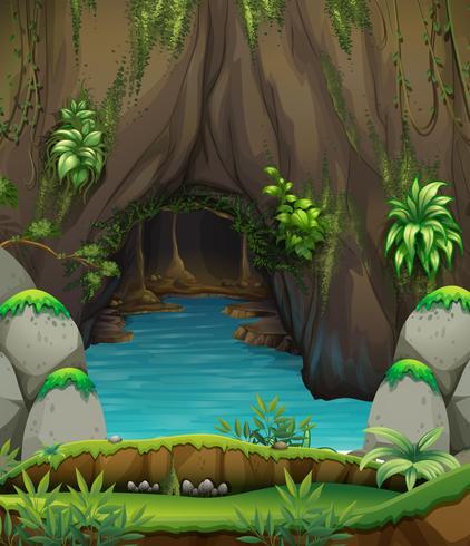 Een prachtig natuurlandschap