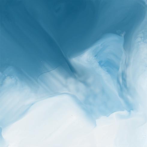 blauer Aquarellflussbeschaffenheitshintergrund