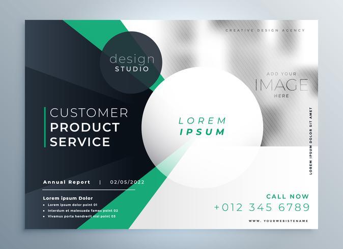 plantilla de folleto de empresa profesional de negocios