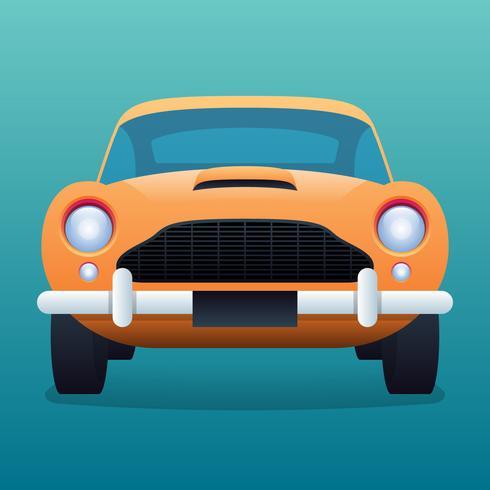 Ilustração Vintage Retro Vintage Car