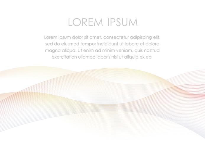 Abstrakter Hintergrund mit einem gewellten Muster- und Textraum.
