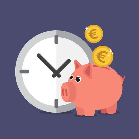 Euro do banco Piggy