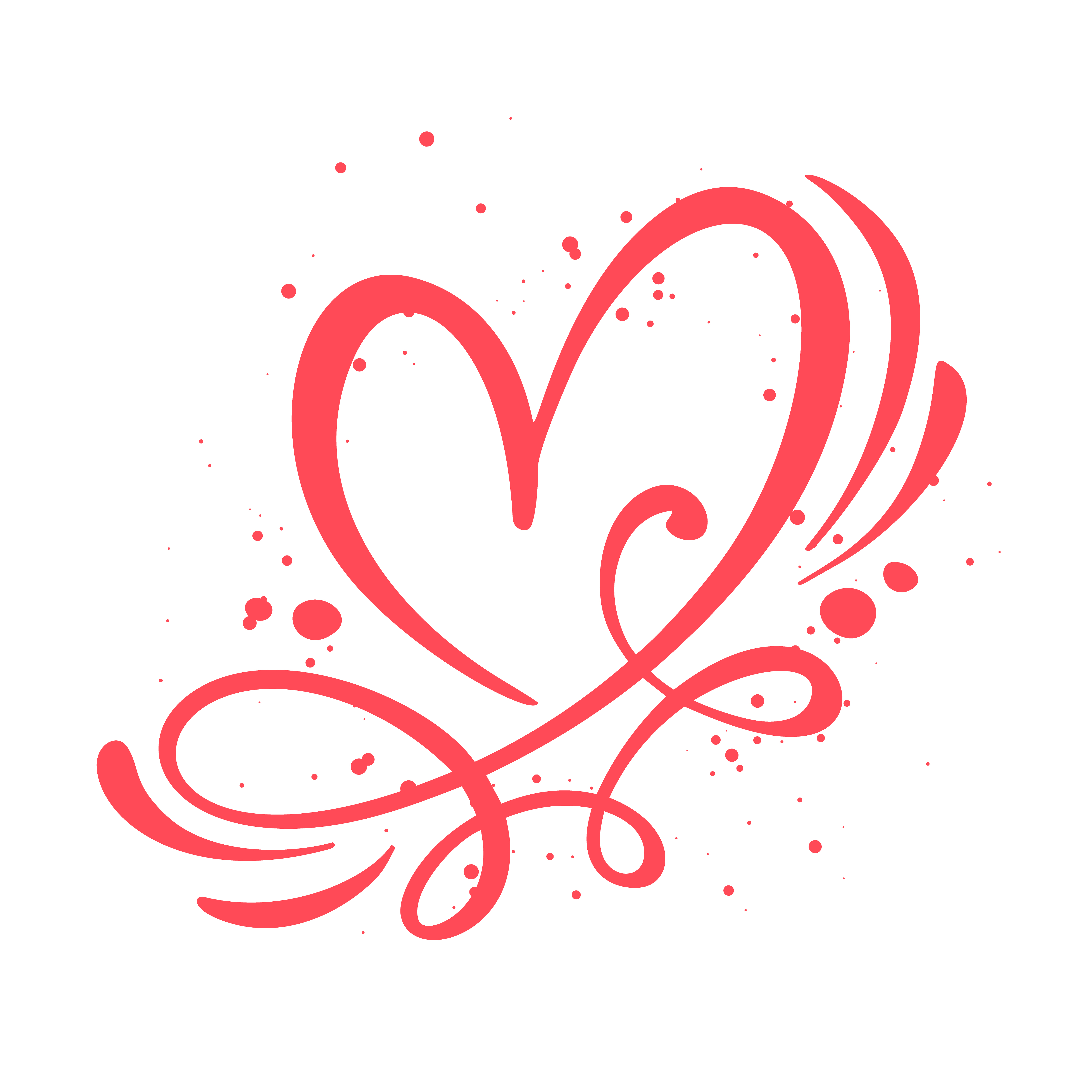 Heart love sign vector illustration download free for Love sign