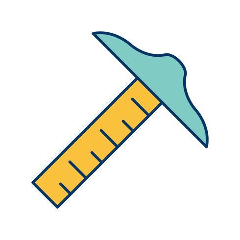 Zeichenwerkzeug Vektor Icon