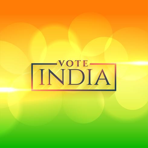 rösta india bakgrund med indiska flagg färger