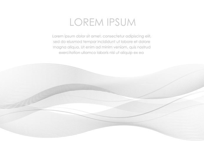 Fondo astratto con uno spazio ondulato del modello e del testo.