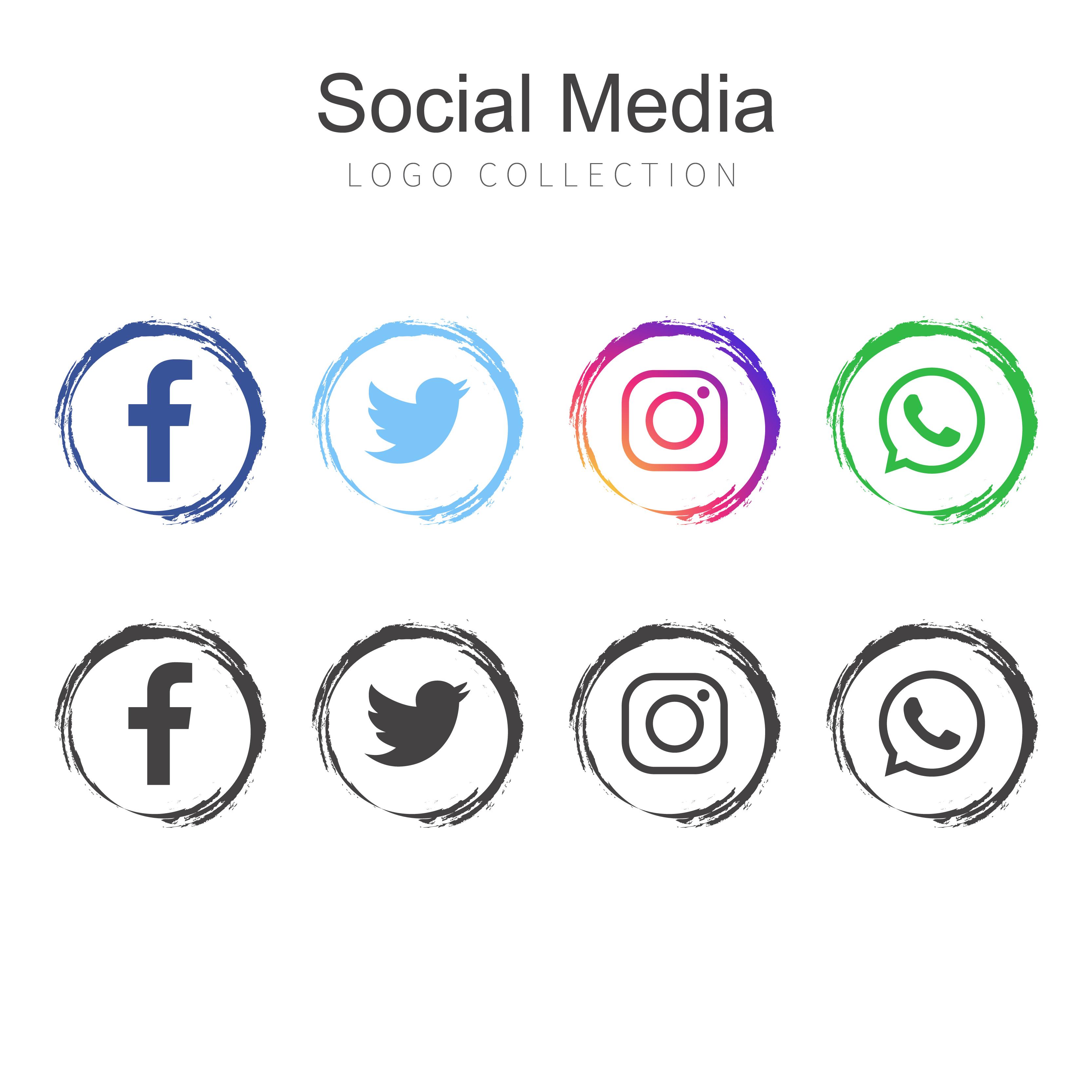 vector-por-social-media-logo-collection Template Application Mobile Free on simple job, editable job, rental home, landlord rental, sample employment, generic job, security employment, printable employment, sample scholarship, for employers,