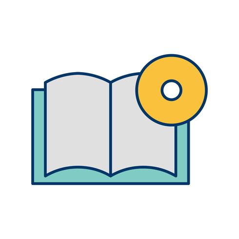 Livre DVD Vector Icon