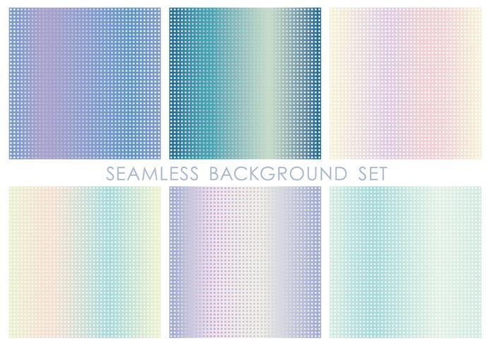 Set di sfondo quadrato senza soluzione di continuità. Ripetibile orizzontalmente e verticalmente.