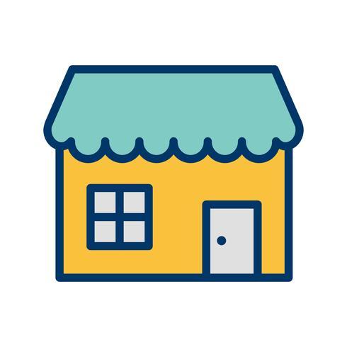 Shop-Vektor-Symbol