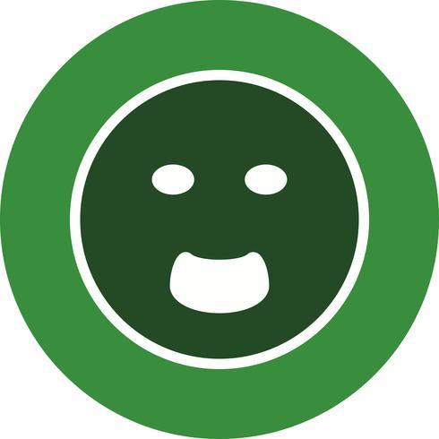 Icono de Vector de Emoji gritando