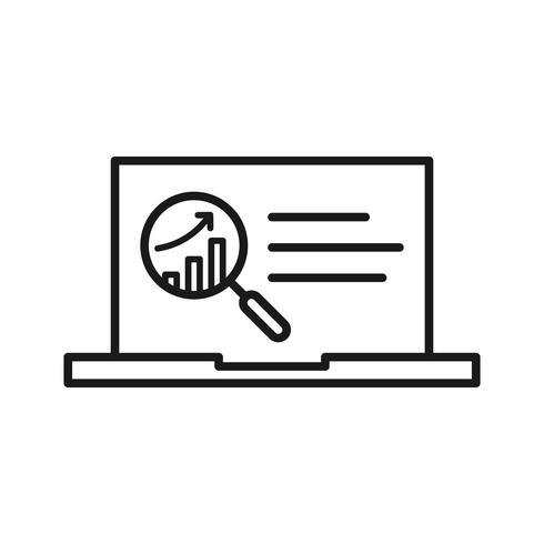 SEO-Icons für die digitale Analyse