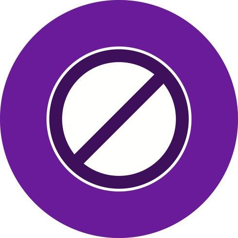Vector Geen vermelding Icon