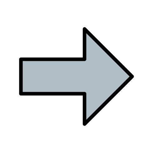 Right Vector Icon