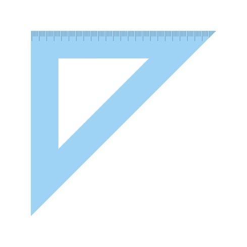 Impostare l'icona quadrata vettoriale