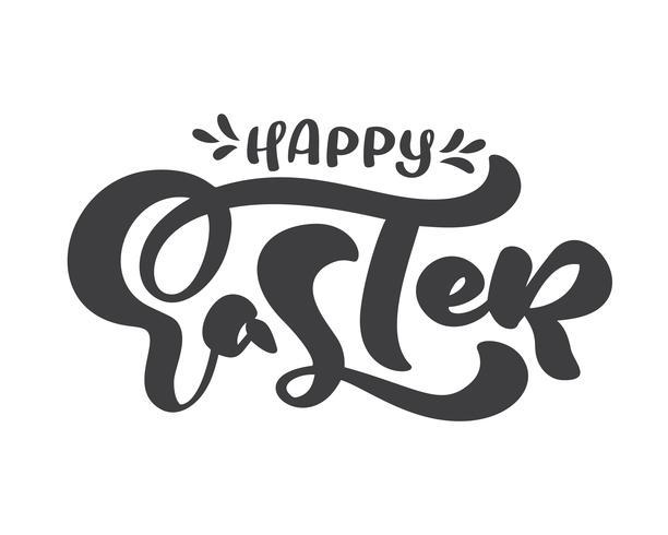 Testo calligrafico di buona Pasqua
