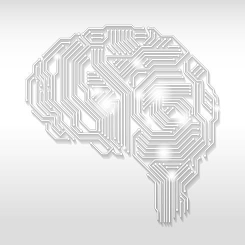 Artificial Intelligence concept illustration.